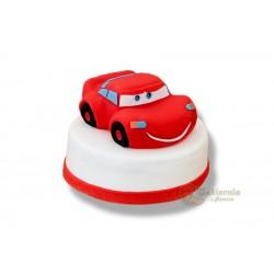 Tort z figurką Zygzaka McQueena