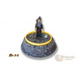 """Tort z figurką Gandalfa """"Władca Pierścieni"""""""