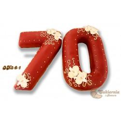 Tort w kształcie liczby 70