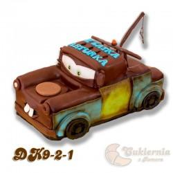 """Tort w kształcie Złomka """"Cars"""""""