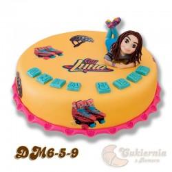 Tort z figurką Soy Luny