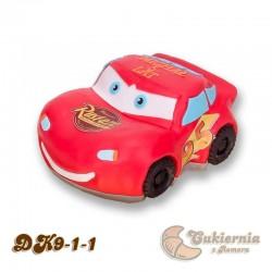 """Tort w kształcie samochodu Zygzak McQueen """"Cars"""""""