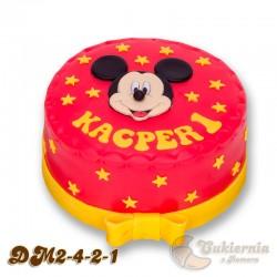 Tort z motywem Myszki Mickey
