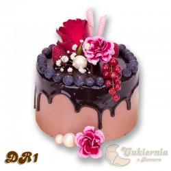 "Tort w stylu ''drip cake"""