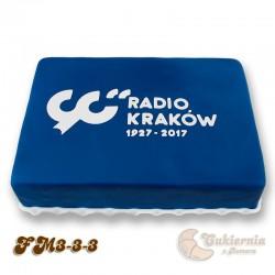 Tort z logo firmy