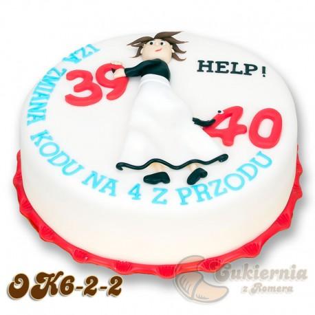 """Tort na """"okrągłe"""" urodziny"""