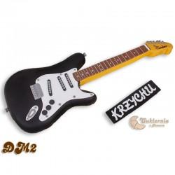 Tort w kształcie gitary elektrycznej