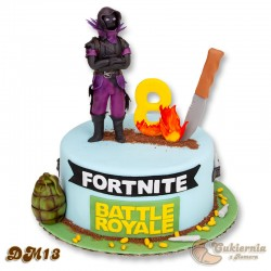 Tort z motywem gry Fortnite