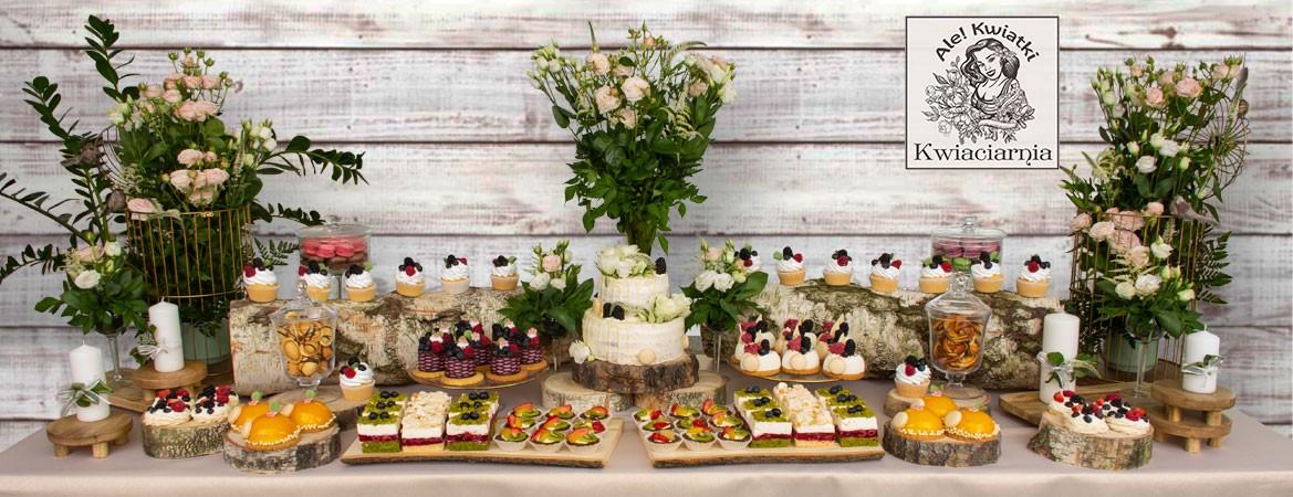Słodki Stół boho rustykalny
